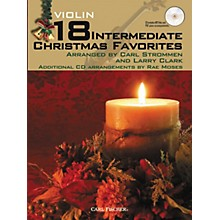 Carl Fischer 18 Intermediate Christmas Favorites - Violin Book/CD