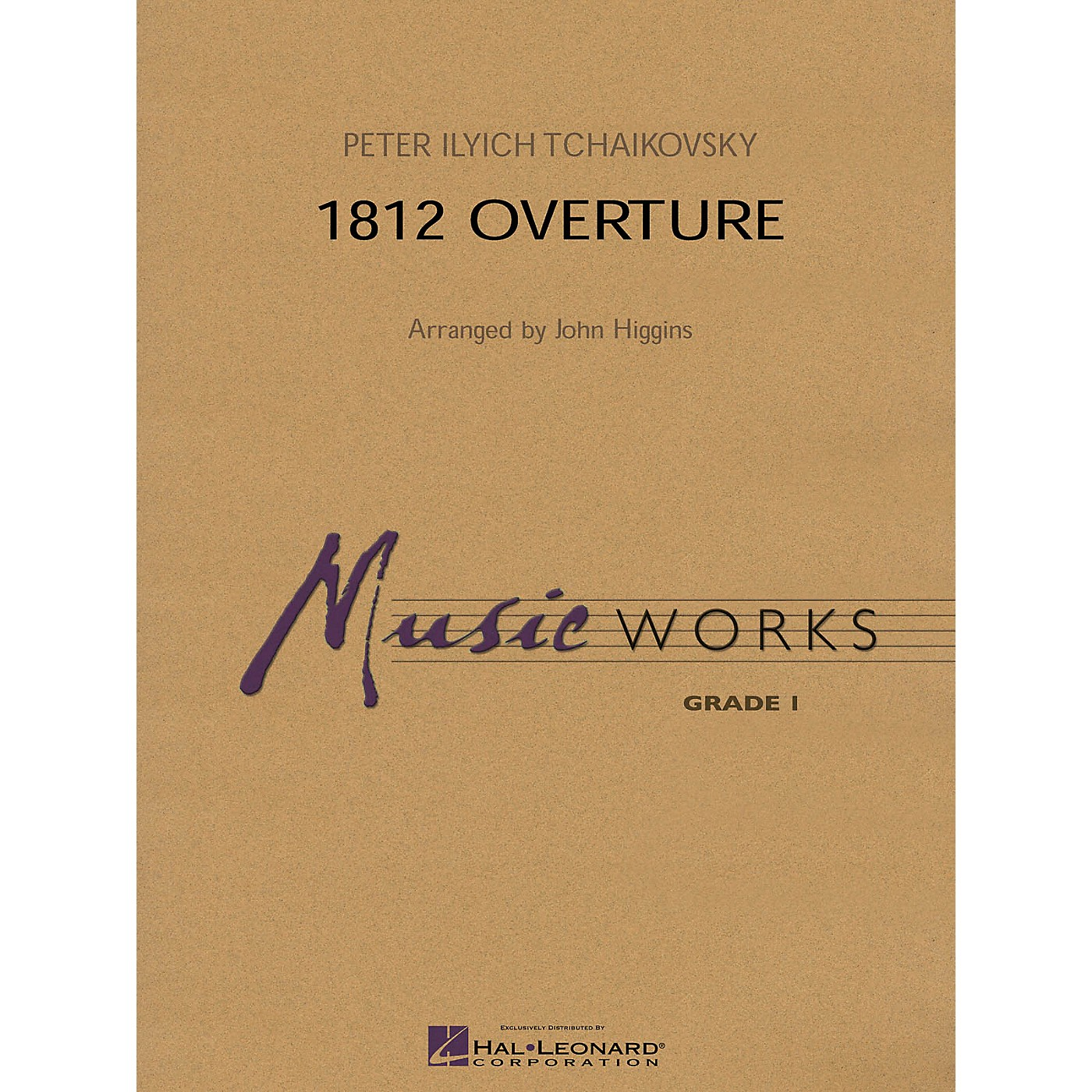Hal Leonard 1812 Overture Concert Band Level 1 Arranged by John Higgins thumbnail