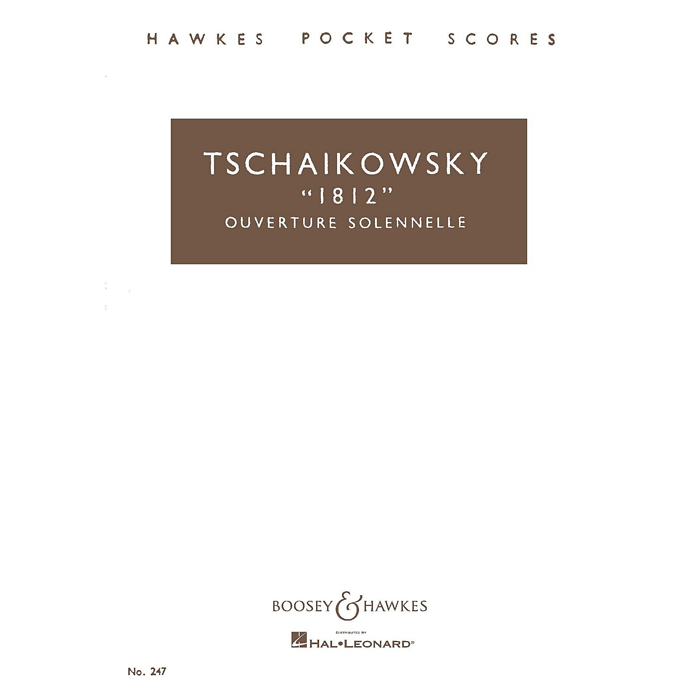 Boosey and Hawkes 1812 Overture Solennelle, Op. 49 Boosey & Hawkes Scores/Books Series by Pyotr Il'yich Tchaikovsky thumbnail