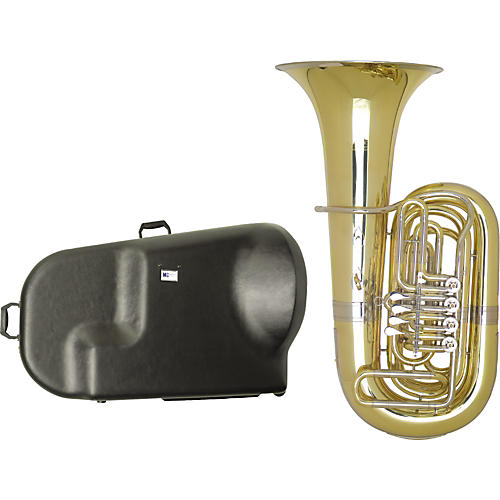 Miraphone 187 Series 4-Valve BBb Tuba with Hard Case thumbnail