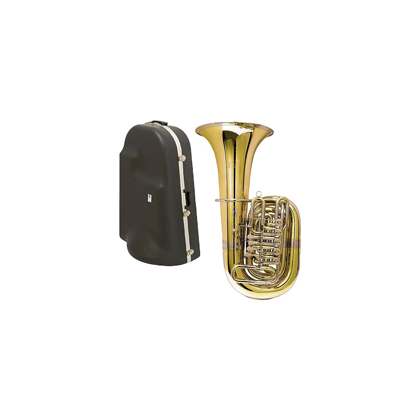 Miraphone 188-5U Series 5-Valve CC Tuba with Hard Case thumbnail