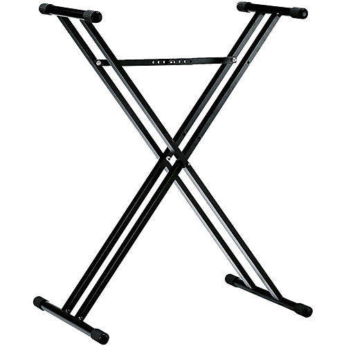 K&M 18963.071.55 X-Style Double Braced Keyboard Stand thumbnail