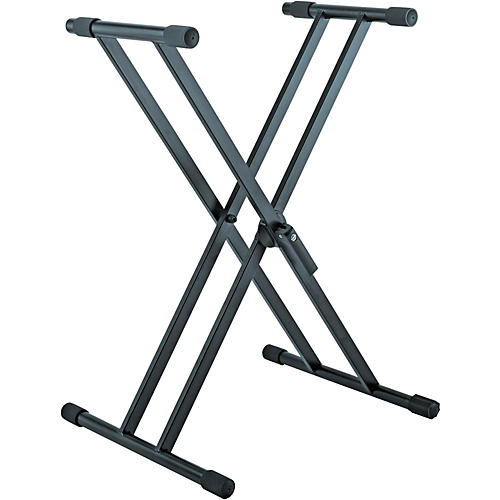 K&M 18990.015.55 X-Style Double Braced Professional Keyboard Stand thumbnail