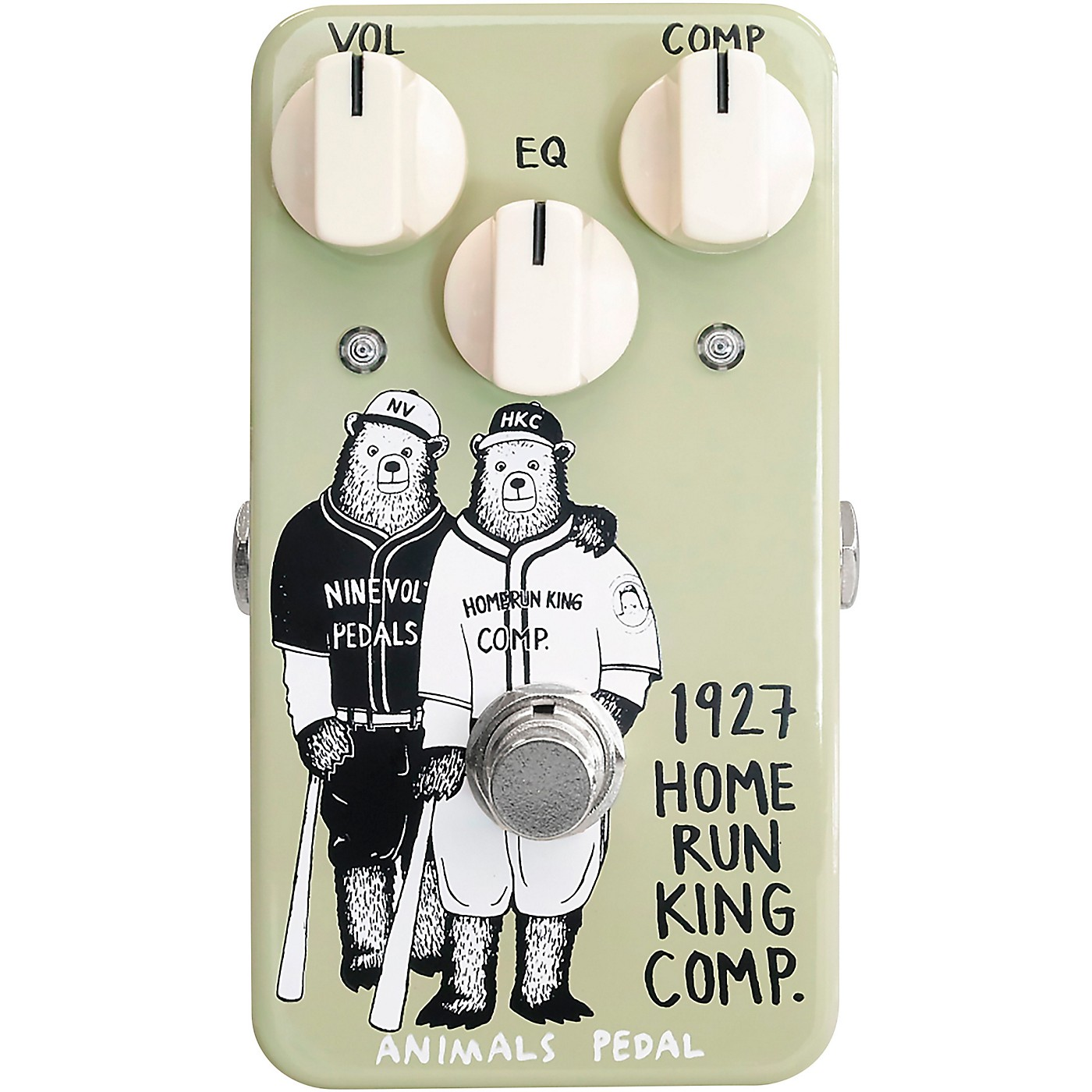 Animals Pedal 1927 Home Run King Compressor Effects Pedal thumbnail