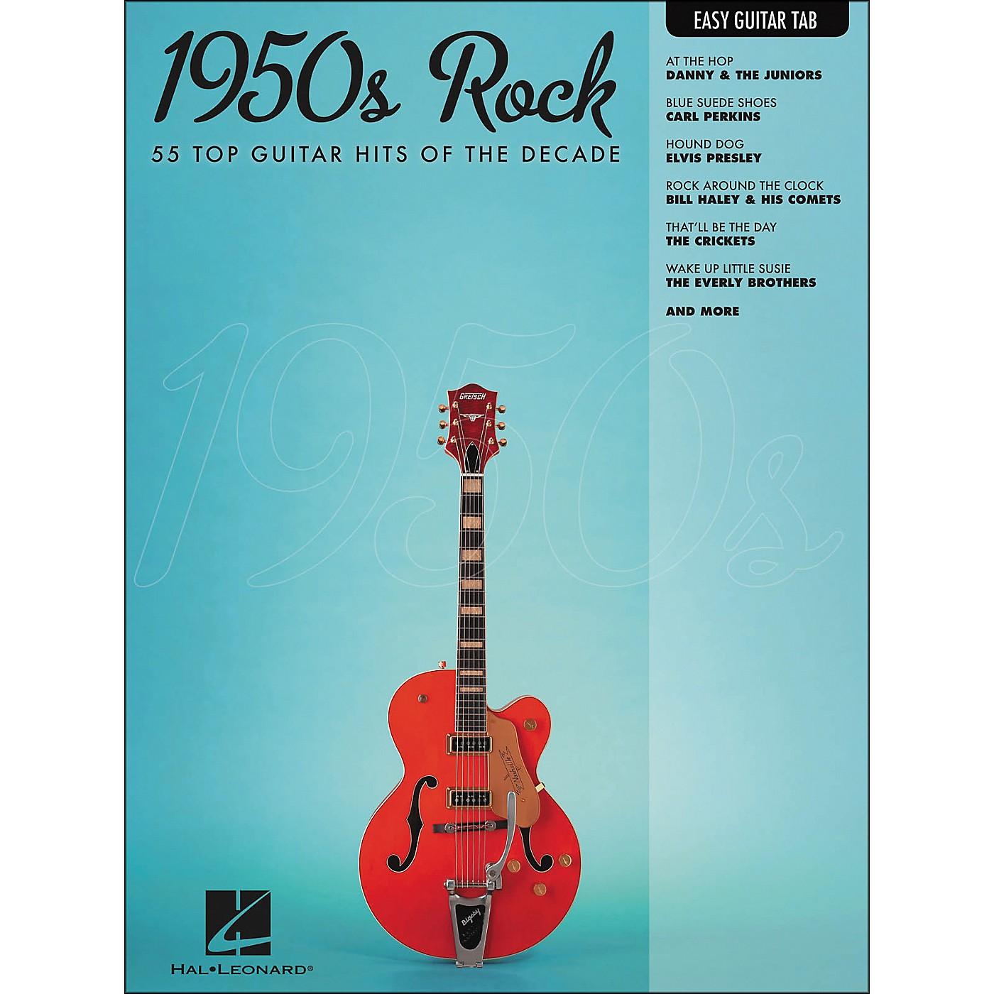 Hal Leonard 1950s Rock Easy Guitar Tab thumbnail