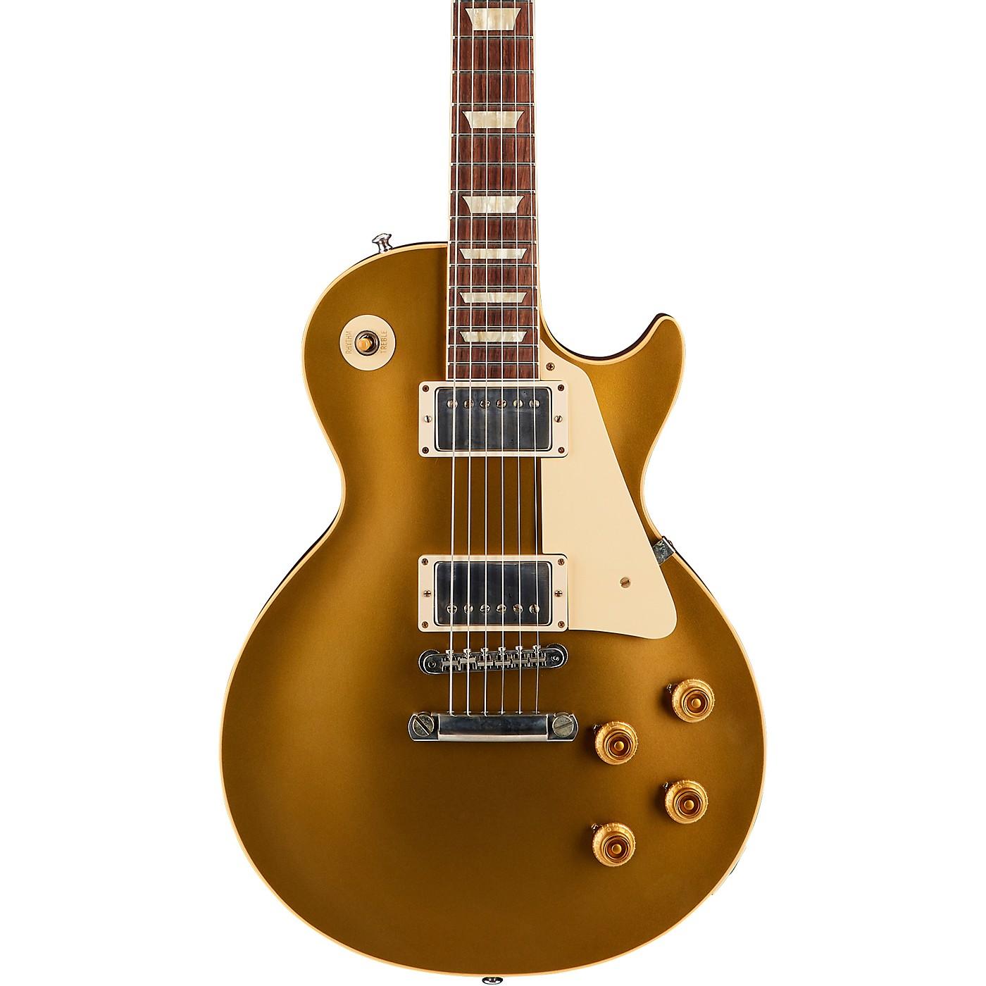 Gibson Custom 1957 Les Paul Goldtop Darkback Reissue VOS Electric Guitar thumbnail