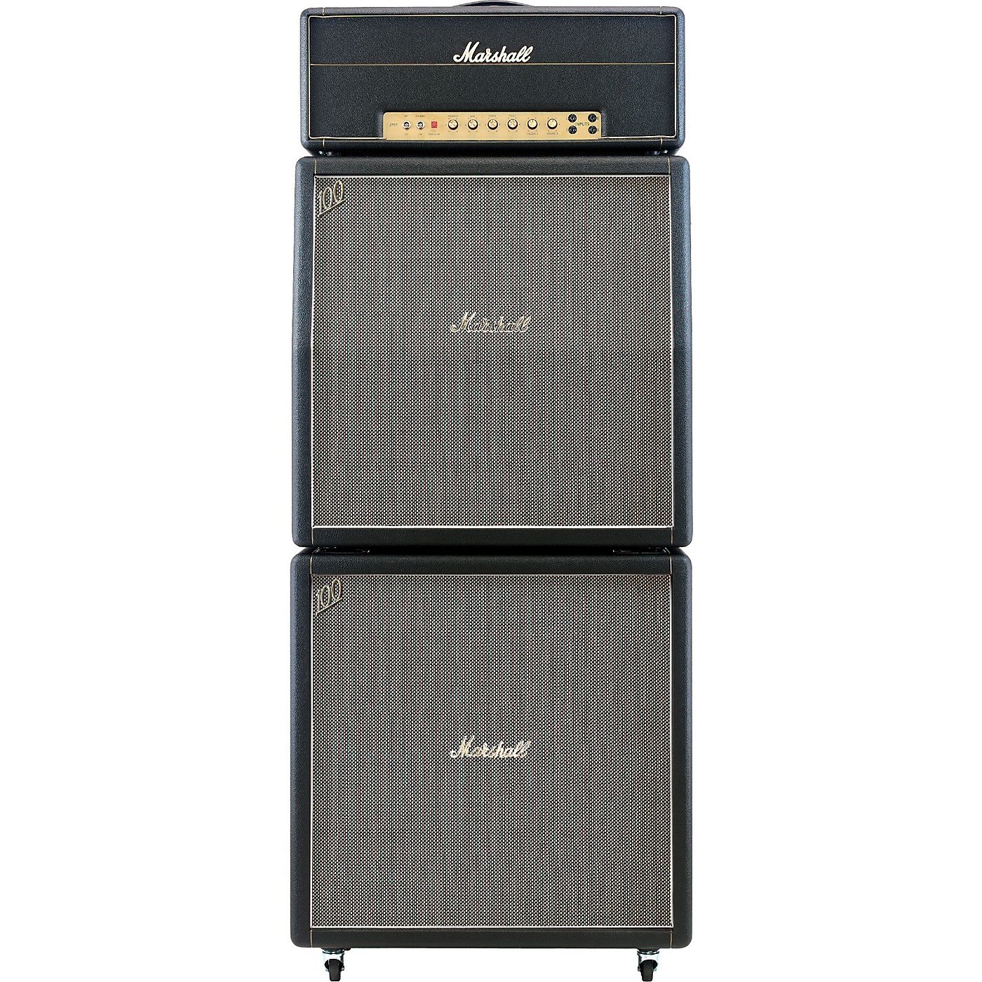 Marshall 1959HW, 1960AHW, and 1960BHW Tube Guitar Full Stack thumbnail