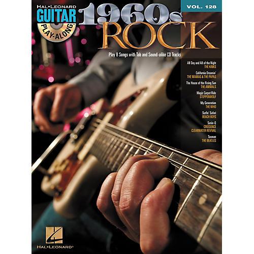 Hal Leonard 1960's Rock - Guitar Play-Along Volume 128 (Book/CD) thumbnail