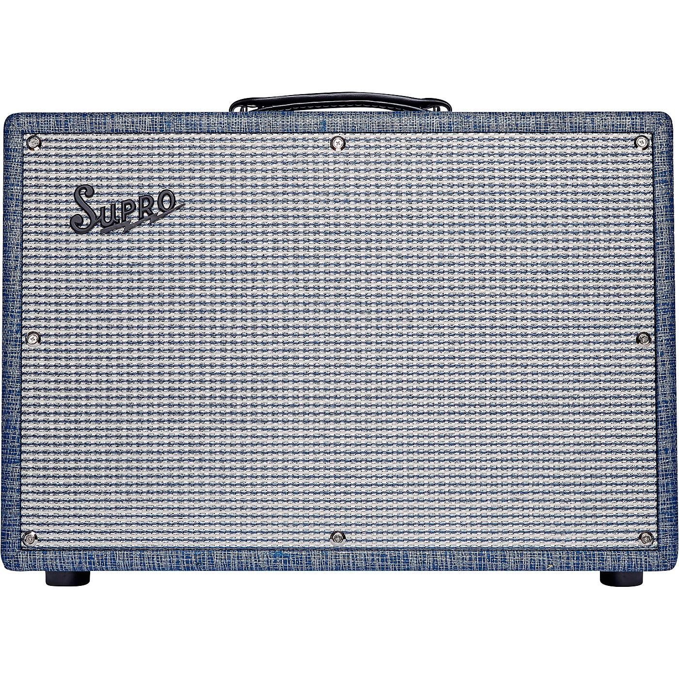 Supro 1968RK Keeley 12 25W 1x12 Tube Guitar Combo Amp thumbnail