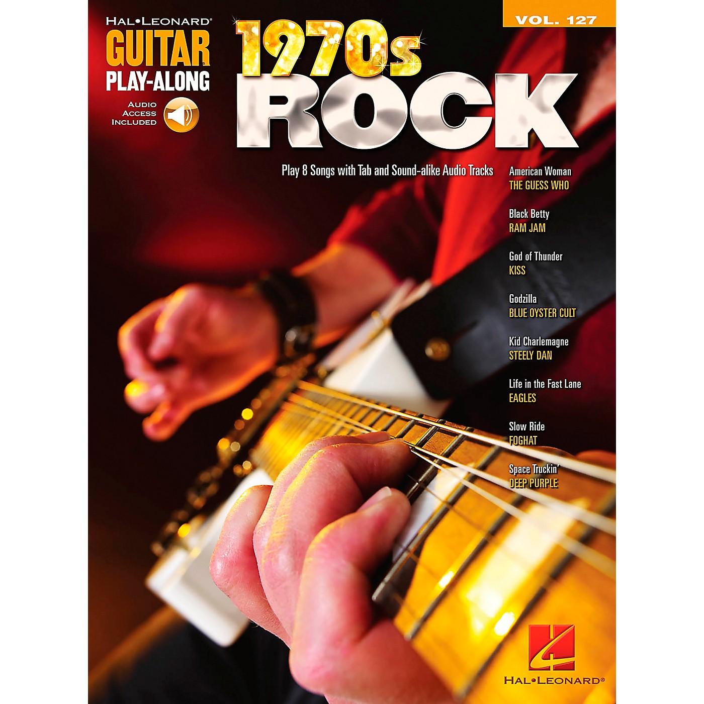 Hal Leonard 1970s Rock - Guitar Play-Along Volume 127 (Book/CD) thumbnail