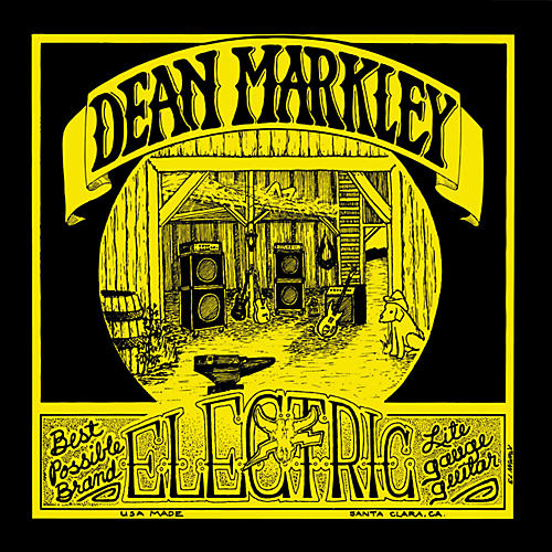 Dean Markley 1972 Vintage Electric Reissue Light Electric Guitar Strings thumbnail