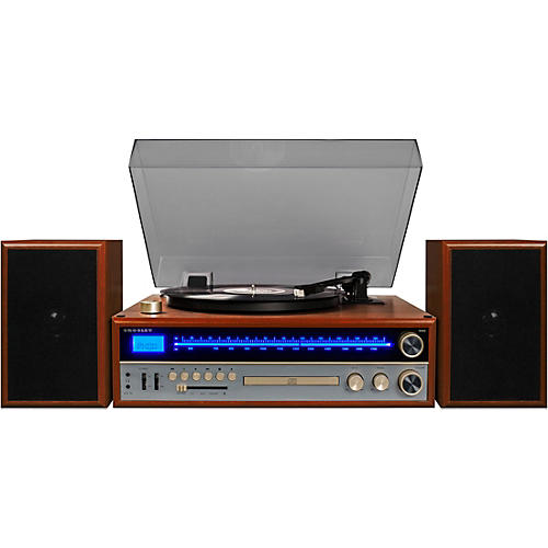 Crosley 1975T Shelf System with Turntable, CD and Radio thumbnail