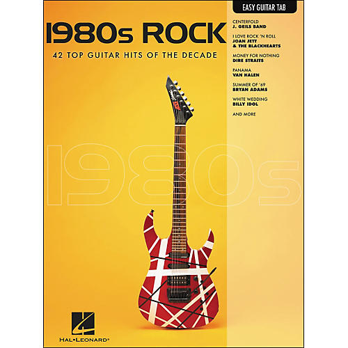 Hal Leonard 1980s Rock Easy Guitar Tab thumbnail