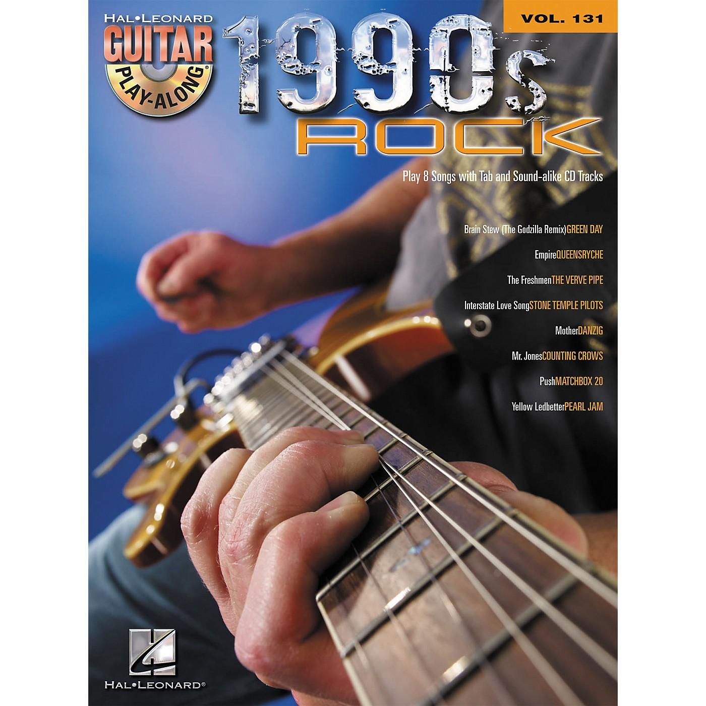 Hal Leonard 1990s Rock - Guitar Play-Along Volume 131 (Book/CD) thumbnail