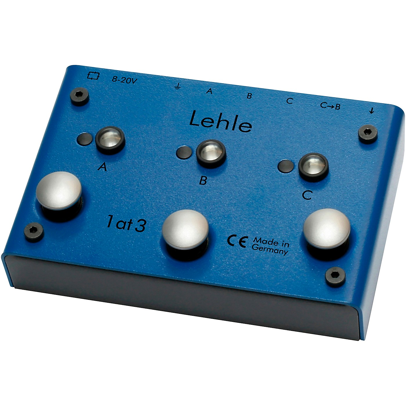 Lehle 1at3 SGoS Programmable True Bypass Switcher - I Instrument to 3 Amps/2 Amp, 1 Effects Loop thumbnail