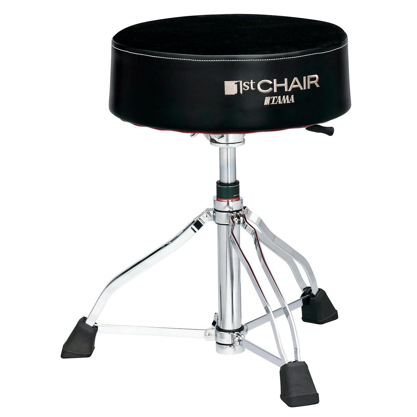 TAMA 1st Chair Round Rider XL Drum Throne Hydraulix Cloth Top thumbnail