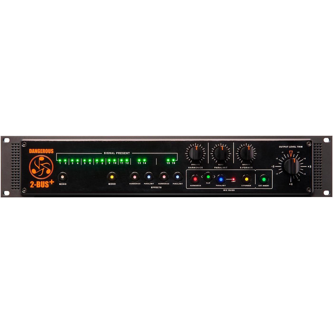 Dangerous Music 2-BUS+ 16-Channel Analog Summing Mixer thumbnail