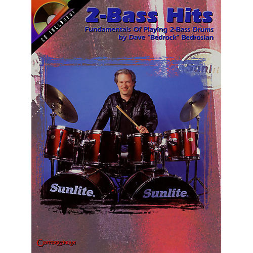 Centerstream Publishing 2-Bass Hits (Fundamentals of Playing 2-Bass Drums) Percussion Series Softcover with CD thumbnail