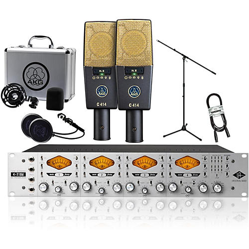 AKG 2 C414 XL II with UA 4710D Package thumbnail