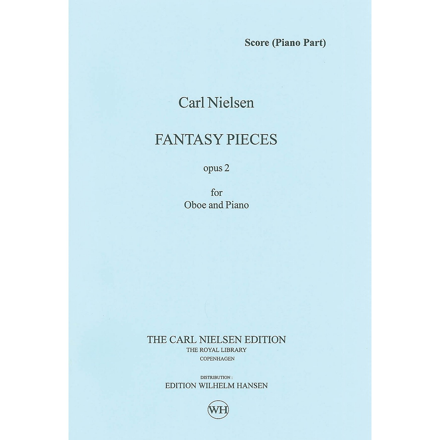 Wilhelm Hansen 2 Fantasy Pieces Op 2 (Oboe and Piano) Music Sales America Series thumbnail