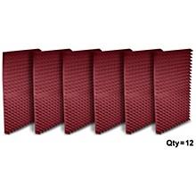 "Auralex 2"" Studiofoam Pyramid 2'x4'x2"" panels (12 pack)"