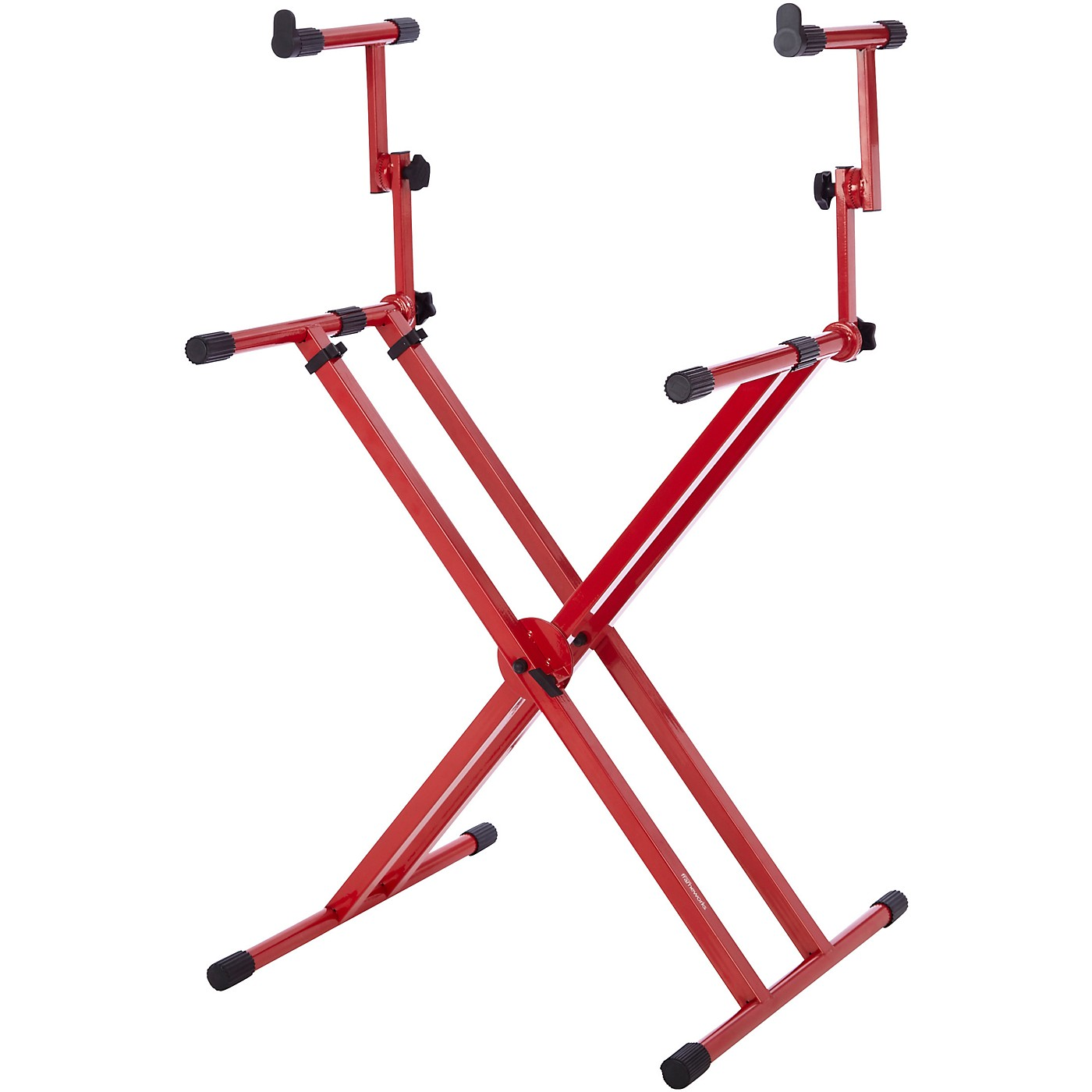 Gator 2-Tier X-Style Keyboard Stand - Nord Red thumbnail