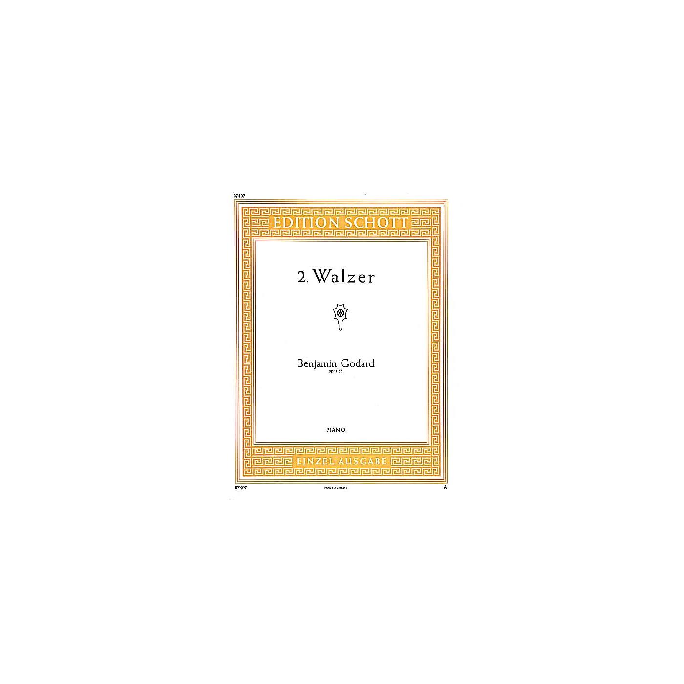 Schott 2 Waltzes in B-flat Major, Op. 56 Schott Series thumbnail