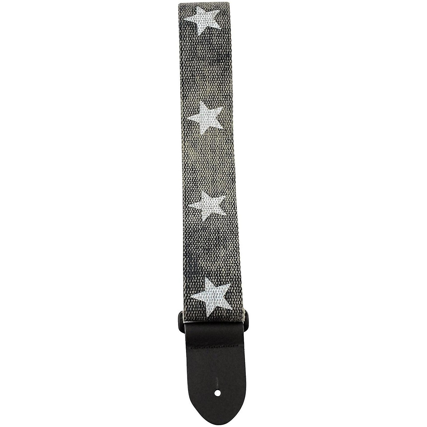 Perri's 2 in. Cotton Guitar Strap with Leather Ends thumbnail