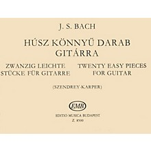 Editio Musica Budapest 20 Easy Pieces (Guitar Solo) EMB Series Composed by Johan Sebastian Bach