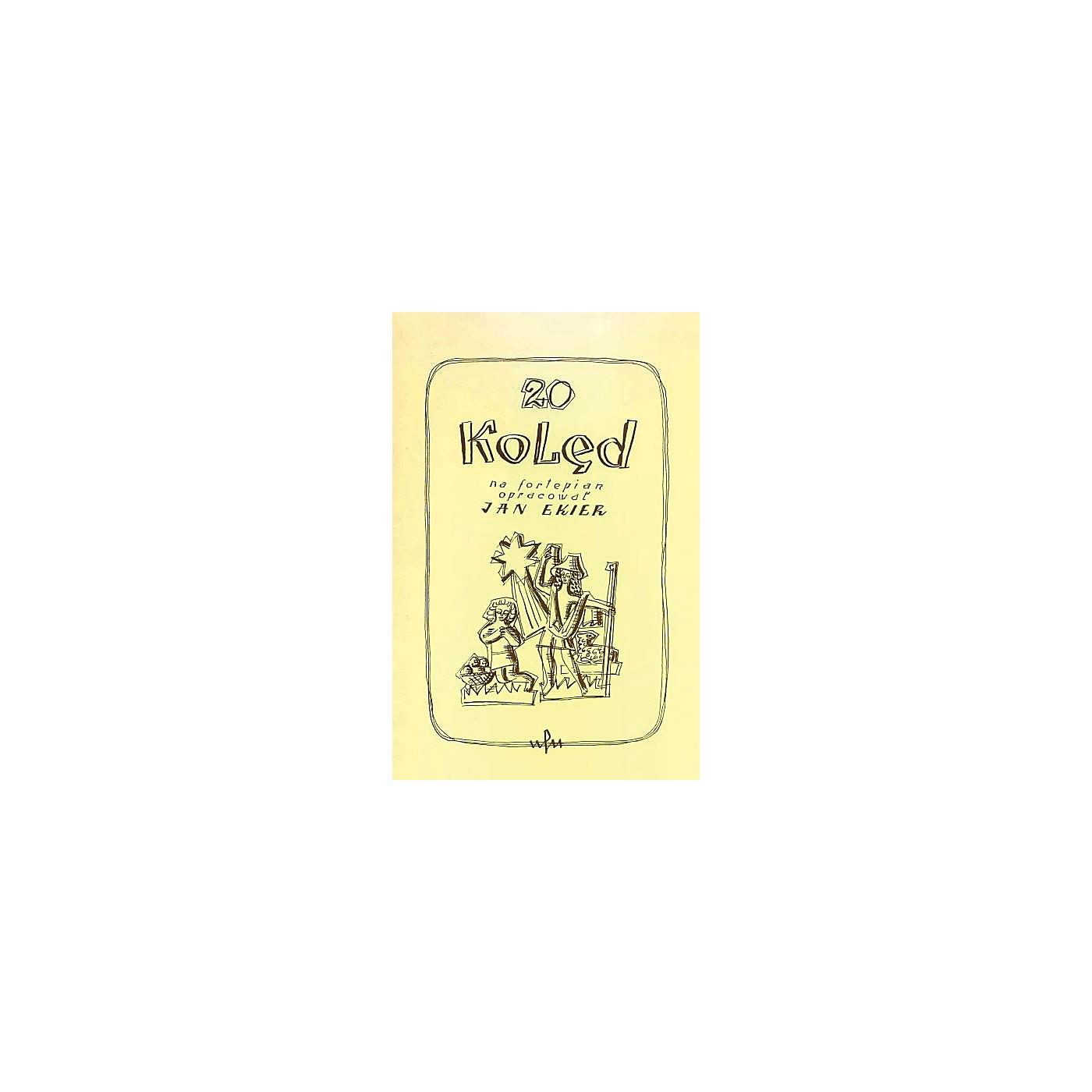 PWM 20 Koled na fortepian opracowar (Polish Language) PWM Series Softcover thumbnail