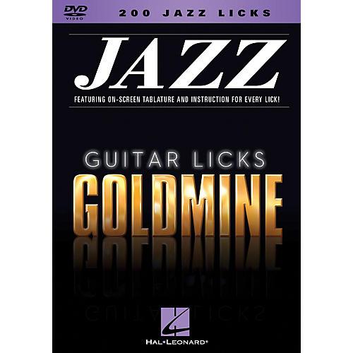 Hal Leonard 200 Jazz Licks - Guitar Licks Goldmine DVD Series thumbnail