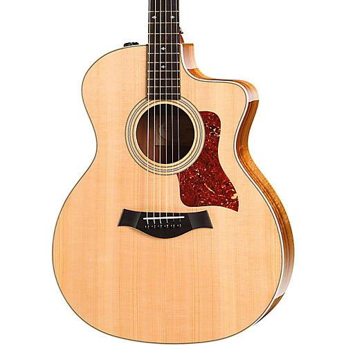Taylor 200 Series 214ce Koa Deluxe Grand Auditorium Acoustic-Electric Guitar thumbnail