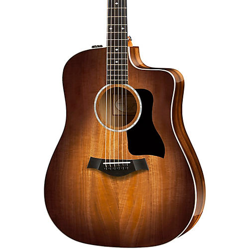 Taylor 200 Series Deluxe 220ce-K DLX Dreadnought Acoustic-Electric Guitar thumbnail