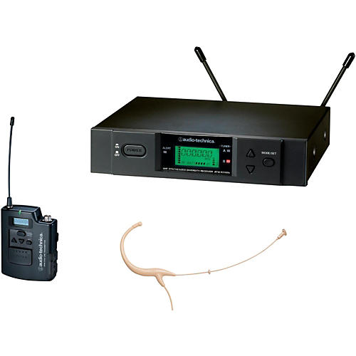 Audio-Technica 2000 Series Wireless Headworn Microphone System / D Band thumbnail