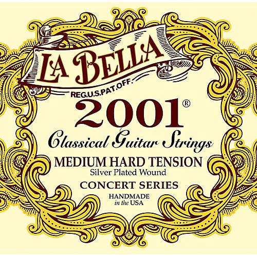 LaBella 2001 Medium-Hard Tension Classical Guitar Strings thumbnail