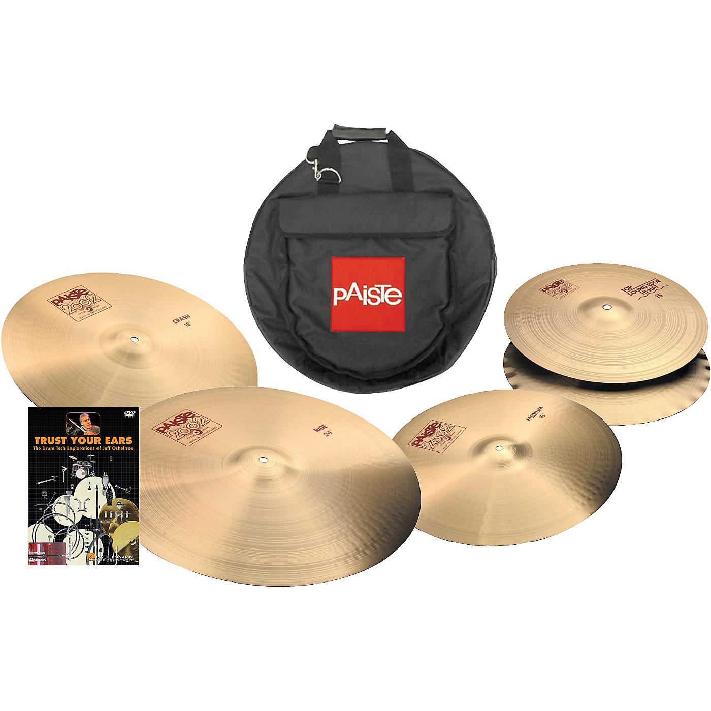 Paiste 2002 Bonham Cymbal Pack thumbnail