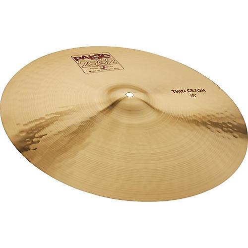 Paiste 2002 Series Thin Crash Cymbal thumbnail