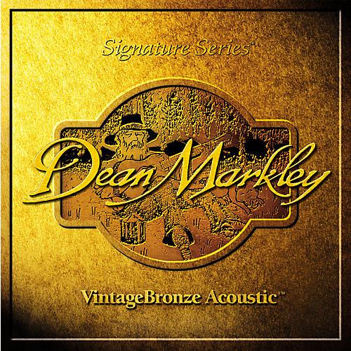 Dean Markley 2007A VintageBronze TMD Acoustic Guitar Strings thumbnail