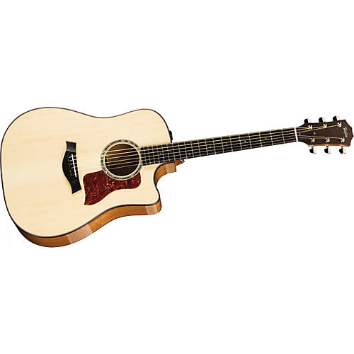 Taylor 2012 510ce-L Mahogany/Spruce Dreadnought Left-Handed Acoustic-Electric Guitar thumbnail