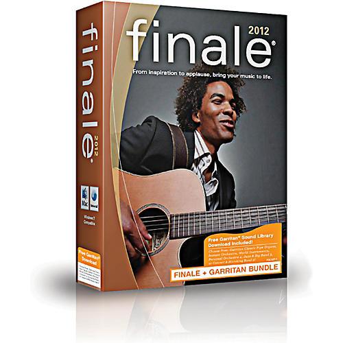 Finale 2012 Academic + FREE Garritan Sound Library-thumbnail