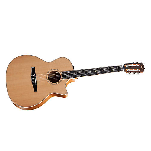 Taylor 2012 Fall Limited 414ce-N-FLTD Grand Auditorium Nylon String Acoustic-Electric Guitar thumbnail