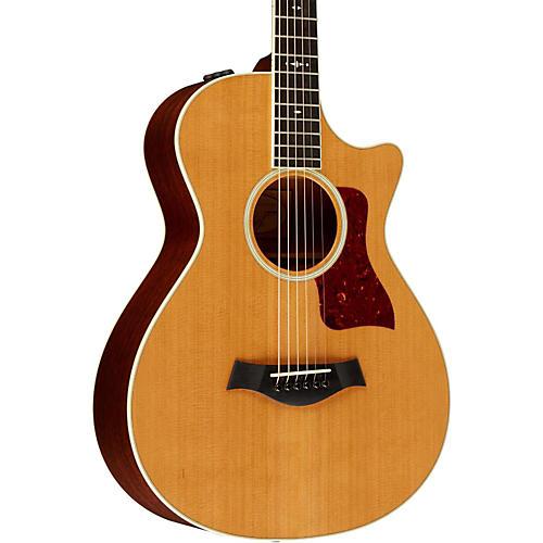 Taylor 2014 500 Series 512ce Grand Concert 12-Fret Acoustic-Electric Guitar thumbnail