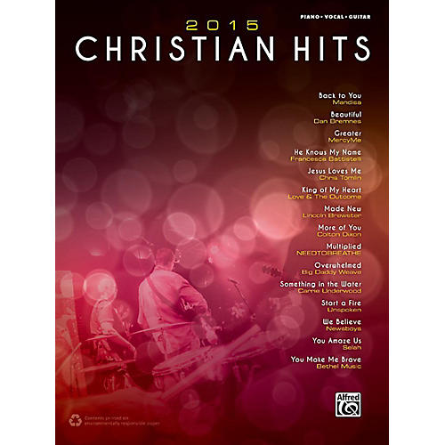 Alfred 2015 Christian Hits - Piano/Vocal/Guitar Songbook thumbnail