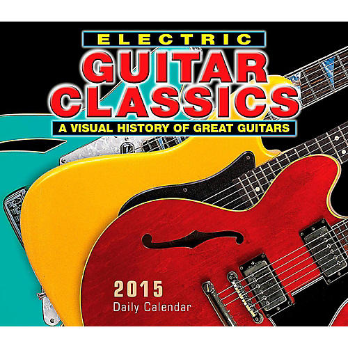 Hal Leonard 2015 Electric Guitar Classics Boxed Daily Calendar thumbnail