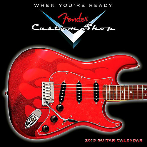 Hal Leonard 2015 Fender Custom Shop Mini Wall Calendar thumbnail
