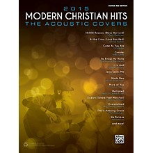 Alfred 2015 Modern Christian Hits: The Acoustic Covers - Guitar TAB Edition Songbook