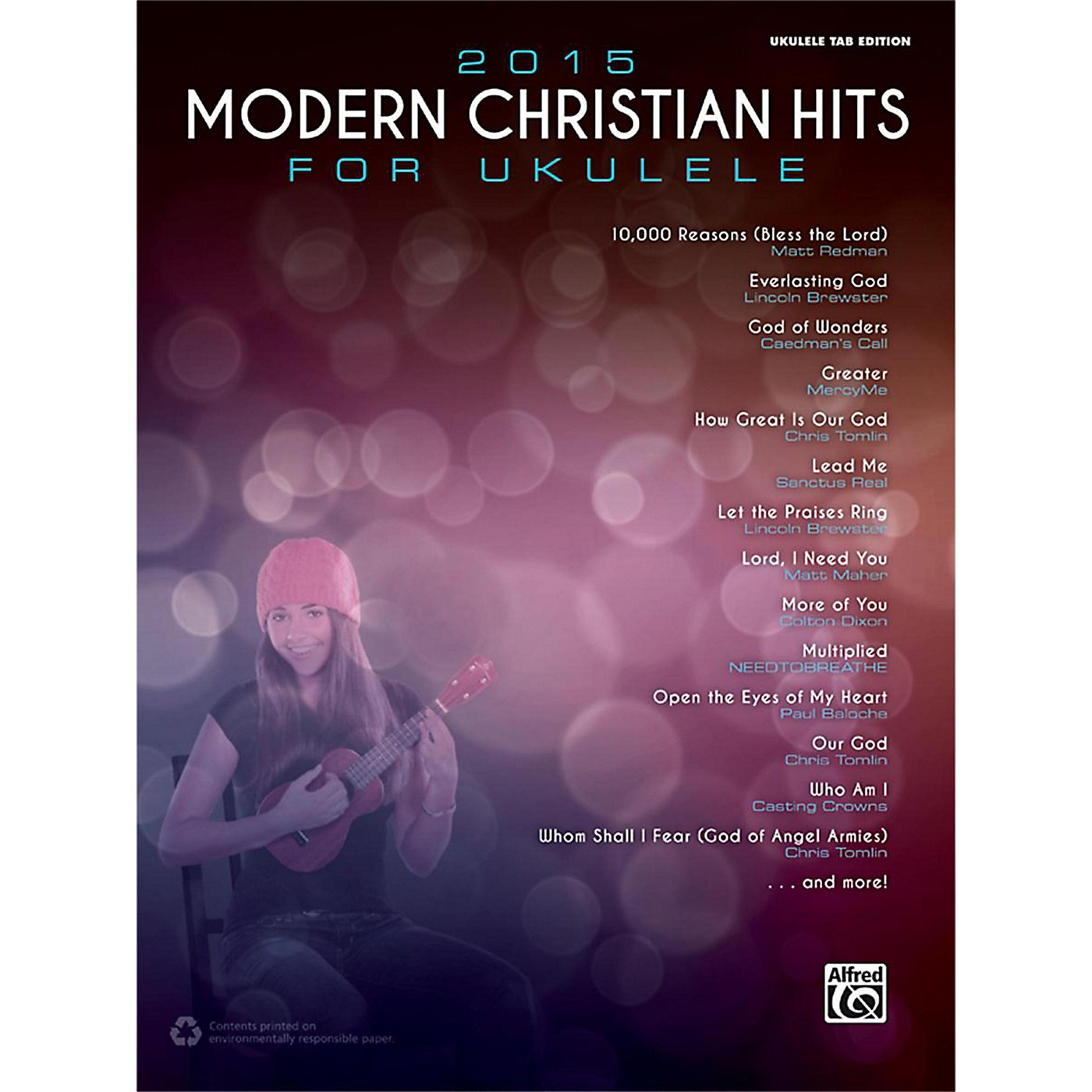 Alfred 2015 Modern Christian Hits for Ukulele Songbook Ukulele TAB Edition thumbnail