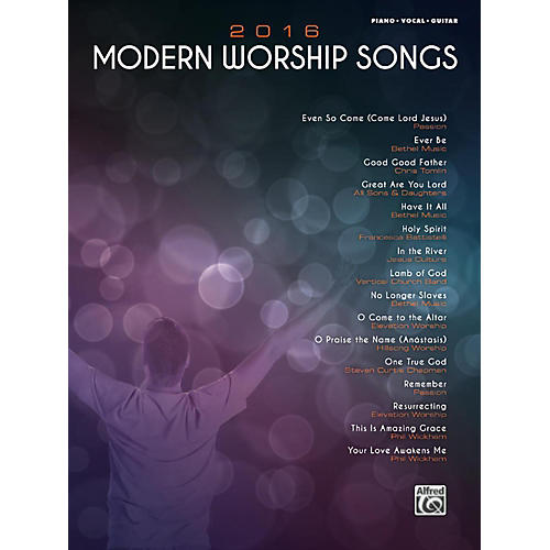 Alfred 2016 Modern Worship Songs Piano/Vocal/Guitar Songbook thumbnail