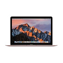 Apple 2017 MacBook 12 in. Core m3 1.2GHz 8GB RAM 256GB SSD Rose Gold (MNYM2LL/A)