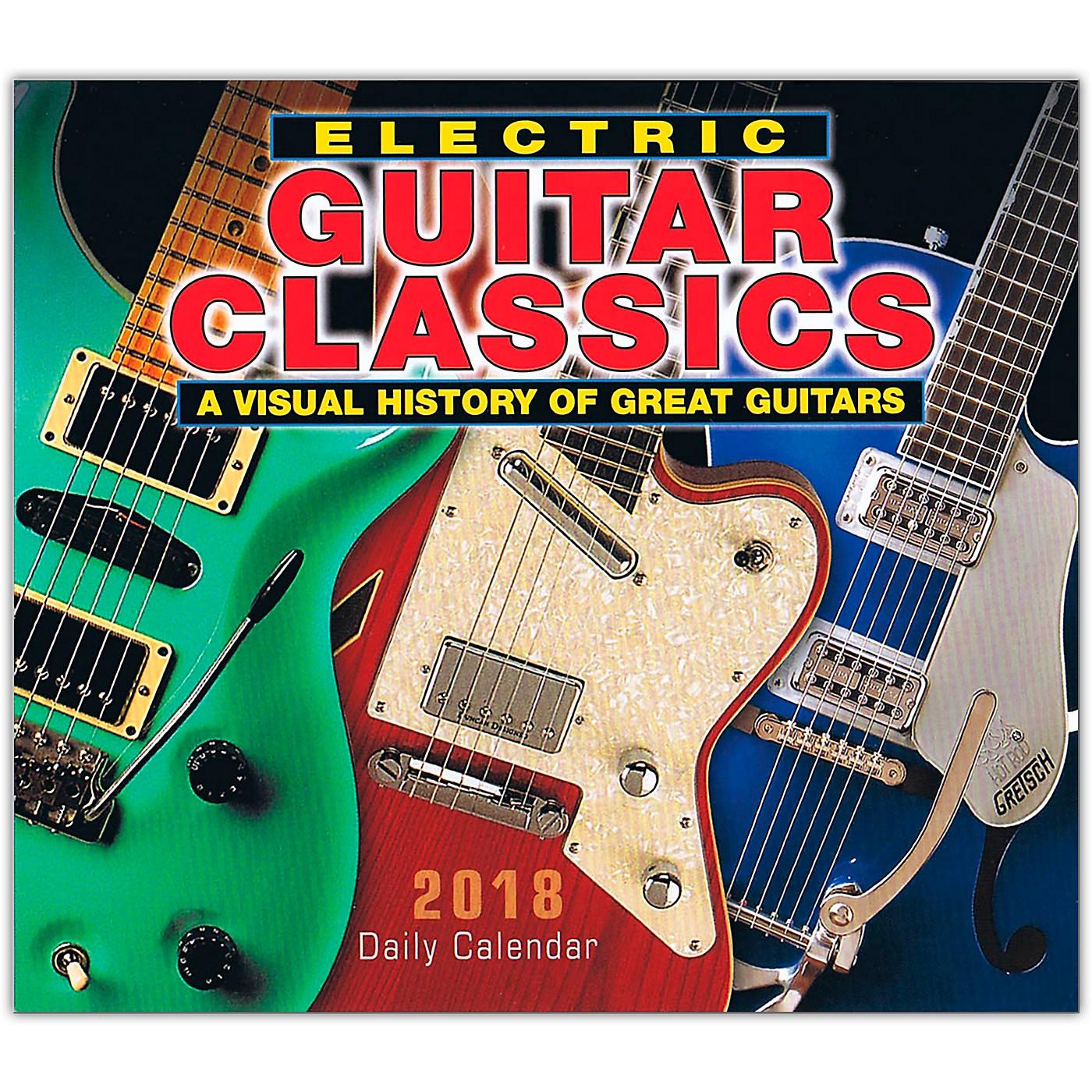 Hal Leonard 2018 Electric Guitar Classics Daily Desk Calendar thumbnail